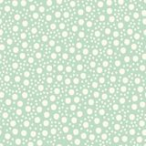Diversión Dots Asymmetrical Seamless Pattern dibujado mano, suizo punteado del bebé Foto de archivo