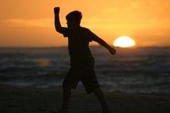Diversión en el Sun Fotografía de archivo libre de regalías