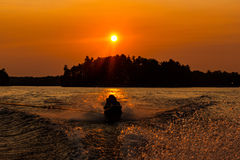 Diversión en el Sun #1 Foto de archivo libre de regalías