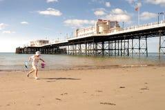 Diversión en la playa Fotos de archivo