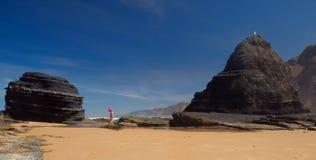 Diversión en la playa fotos de archivo libres de regalías