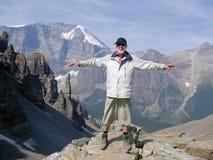 Diversión en las montañas foto de archivo libre de regalías