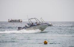 Diversión en Naama Bay Foto de archivo