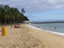 Diversión en Waikiki Fotografía de archivo libre de regalías