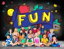 Diversión Joy Smiley Stationery Education Concept Imagenes de archivo