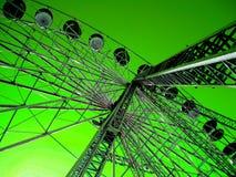Diversión verde Foto de archivo libre de regalías