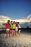 Diversi?n en la playa 90 Foto de archivo