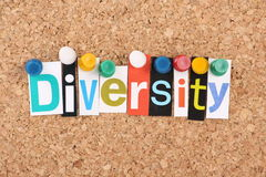 Diversidad Imagen de archivo libre de regalías