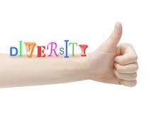 Diversidad Imagen de archivo