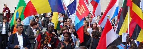 Diversidad (bandera) Imagenes de archivo