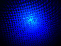 Diversidad de cristal azul abstracta, iluminación de la potencia, Fotos de archivo