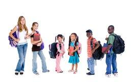 Diversidad en escuela Foto de archivo libre de regalías