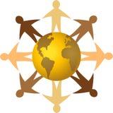 Diversidad global/EPS stock de ilustración