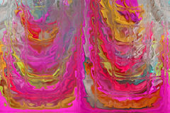 Diversidad interior moderna, pared de cristal, foto de archivo libre de regalías