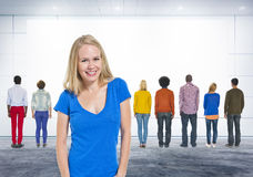 Diversidad que entrena Team Trainer Concept de la dirección Fotos de archivo libres de regalías