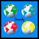 Diversidade ilustração do vetor
