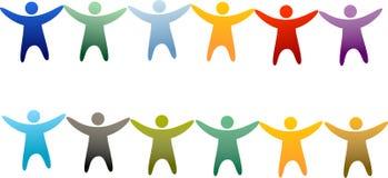 Diversidade Imagens de Stock Royalty Free