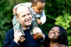 Diversidade da família Imagem de Stock Royalty Free