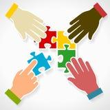 Diversidade do negócio Foto de Stock Royalty Free