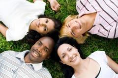 Diversidade dos povos Fotografia de Stock Royalty Free