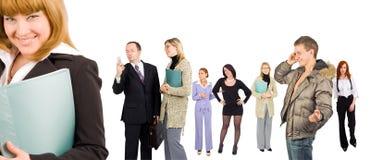 Diversidade no conceito do negócio Fotografia de Stock Royalty Free