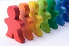 Diversidade no local de trabalho Foto de Stock Royalty Free