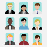 Diversidade no trabalho Fotos de Stock Royalty Free