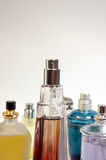 Diversidade nos formulários, nas cores, nos perfumes imagens de stock royalty free