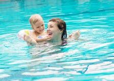 Diversión de la piscina Imagen de archivo
