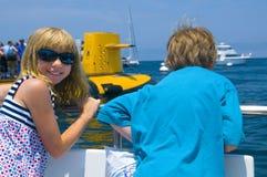 ¡Diversión de las vacaciones de verano! Fotografía de archivo libre de regalías