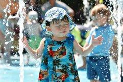 Diversión del agua Foto de archivo libre de regalías