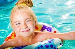 Diversión del agua del verano Foto de archivo libre de regalías