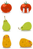 Diversión divertida Pack2 de las frutas Fotografía de archivo libre de regalías