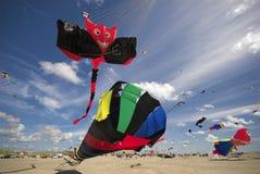 Diversión en la playa Foto de archivo libre de regalías