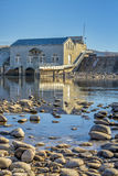 Diversion Dam along the Boise River Stock Photography