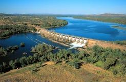 Diversion dam. Western Australia scenes The Diversion dam at Kununurra on the Ord river Royalty Free Stock Photo