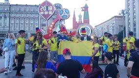 Diversiones colombianas con la muestra en la camiseta almacen de video