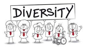 diversità Immagine Stock Libera da Diritti