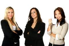 Diversità corporativa tre Fotografia Stock