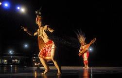 DIVERSITÀ INDONESIANA DI BALLO Fotografia Stock