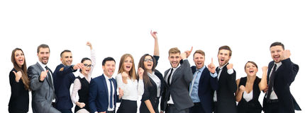 Diversità Team Cheerful Success Community Concept casuale immagini stock