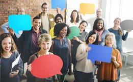 Diversità Team Community Group del concetto della gente Immagine Stock