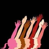 Diversità umana illustrazione vettoriale