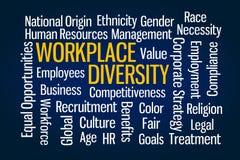 Diversité de lieu de travail illustration libre de droits
