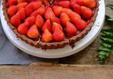 Diversité de pâtisserie décorée du fruit, produits alimentaires de boulangerie, boulangerie fraîche, mini gâteau Photos libres de droits