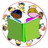 Diversité : enfants et éducation Image libre de droits