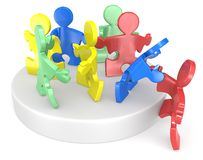 Diversiteit. Stock Foto