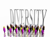 Diversiteit. Stock Afbeelding