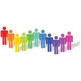 Diversiteit vector illustratie