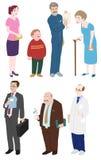 Diversiteit van Mensen stock illustratie